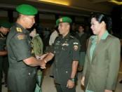 Serah terima jabatan Perwira Menengah dilingkungan Kodam IX/Udayana - foto: Istimewa