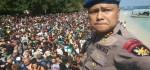 Foto dan Proses Evakuasi Turis dari Gili