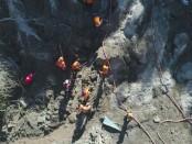Tim relawan gempa Lombok - foto: Istimewa