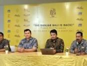 Penjelasan dari pihak manajemen The Banjar Bali - foto: Ari Wulandari/Koranjuri.com