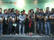 Perupa asal Bali yang tergabung dalam MilitanArts menggelar pameran di Tangerang - foto: Istimewa