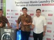 Launching produk laundry digital dari LG Indonesia - foto: Ari Wulandari/Koranjuri.com