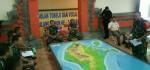 Letusan Gunung Agung, TNI Gelar Latihan Posko I Penanggulangan Bencana