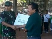 Menyambut Hari Ulang Tahun Tentara Nasional Indonesia (TNI) Ke-73, Kodam IX/Udayana menggelar Karya Bakti dengan melakukan penanaman 1.000 bibit pohon - foto: Istimewa