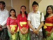 Panitia event Lomba Bapang Barong yang akan diadakan di Wantilan Pura Desa Kahyangan, Desa Adat Legian di awal Oktober 2018 - foto: Koranjuri.com