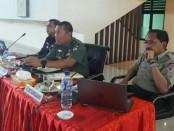 Sinkronisasi Satgas Evakuasi sebelum pelaksanaan IMF-WB Annual Meeting di Nusa Dua - foto: Istimewa