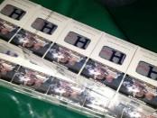 Barang bukti rokok ilegal yang diamankan di dermaga rakyat di Kuala Enok - foto: Istimewa