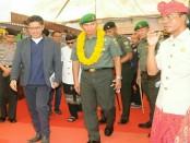 Pangdam IX/Udayana menghadiri peletakkan batu pertama pembangunan Baliwood Land - foto: Istimewa