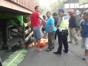 Kondisi korban sebelum dievakuasi - foto: Sujono/Koranjuri.com