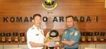 Komandan Maritim Jepang Kunjungi Markas Koarmada I