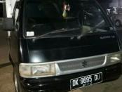 Mobil boks yang digunakan untuk mengangkut barang-barang curian ikut diamankan Ditreskrimum Polda Bali sebagai barbuk - foto: Istimewa