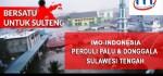 Gempa-Tsunami Palu, IMO-Indonesia Buka Posko Bantuan di Gorontalo