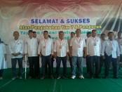 Pengurus Yayasan Jokowi Centre Foundation Jawa Tengah yang dikukuhkan - foto: koranjuri.com