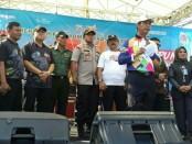 Polsek Tanjung Duren Lakukan Pengamanan Pawai Obor Asian Para Games 2018 - foto: Bob/Koranjuri.com