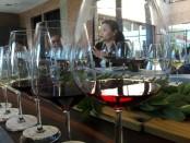 Coorporate Training & Development Manager Hatten Wines, Kertawidyawati yang juga Presiden Indonesia Sommelier Association (ISA) Bali Chapter, saat memberikan narasi dalam Wine Appreciation di Cellardoor yang merupakan kantor dari produsen wine Hatten Wines - foto: Koranjuri.com