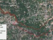 Foto udara kerusakan bangunan dan wilauaj terdampak Likuifaksi - foto: Istimewa/screenshot