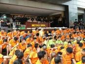 Ratusan pelaku penyalahgunaan narkoba diamankan Polda Metro Jaya dalam Operasi Nila Jaya 2018 - foto: Bob/Koranjuri.com