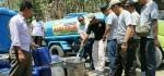 Buayan Dilanda Kekeringan Parah, IKABA Polres Kebumen Drop Air Bersih