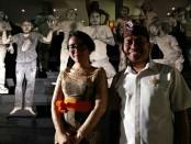 General Manager The Haven Bali Seminyak, Marak Setiadi (kanan) dan Marketing Communications Riri Tambunan (kiri) - foto: Koranjuri.com