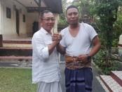 Dewa Putu Susila (kiri) dan I Made Putrayadi (kanan) - foto: Koranjuri.com