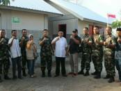 10 Rumah Instan Sehat (Risha) terbangun di Desa Akar-Akar, Kecamatan Bayan, Kabupaten Lombok Utara - foto: Istimewa