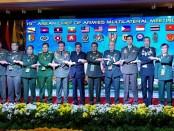 Acara ASEAN Chiefs of Army Multilateral Meeting (ACAMM) ke-19 di Melaka, Malaysia, Senin (26/11/2018) - foto: Istimewa