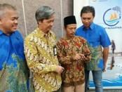 Kerjasama XL Axiata – Kemendesa PDTT memberikan pelatihan kepada perempuan dan nelayan di Loteng - foto: Istimewa