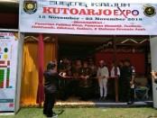 Wabup Yuli Hastuti saat membuka Kutoarjo Expo 2018 - foto: Sujono/Koranjuri.com