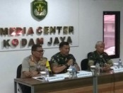 Jumpa pers terkait penembakan Perwira Menegah (Pamen) TNI AD pada hari Selasa malam (25/12) kemarin - foto: Istimewa