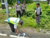 Korlantas Mabes Polri, Dinas PUPR Propinsi,  dan Satlantas Polres Purworejo, saat melakukan survey di Jetis, untuk pemasangan kamera ECRIP - foto: Sujono/Koranjuri.com