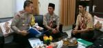 Dua Pramuka Tuna Rungu Asal Palembang Singgah di Polres Kebumen