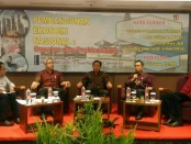 Diskusi publik yang bertema Pembangunan Ekonomi Nasional, Capaian dan Problematika yang di selenggarakan oleh Mandiri Djaya di Hotel Sense Sunset Seminyak Bali, Sabtu (1/12/2018) - foto: Istimewa