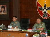 Tim Pengawasan dan Pemeriksaan (Wasrik)  Kodam IX/Udayana yang dipimpin oleh Irdam IX/Udayana, Kolonel Kav Taufiq Budi Santoso - foto: Istimewa