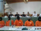 Pelaku penyelundupan narkoba oleh warga negara asing yang ditangkap Bea Cukai Ngurah Rai di Bali - foto: Istimewa