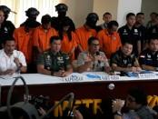 Pelaku pengeroyokan perwira TNI AL berhasil diburu dan ditangkap Polda Metro Jaya - foto: Istimewa