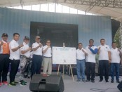Deklarasi 'Sayangi Nyawa, Kurangi Kecepatan' yang diinisiasi Balai Pengelola Transportasi Darat (BPTD) Wilayah XII Provinsi Bali-NTB Ditjen Perhubungan Darat - foto: Istimewa
