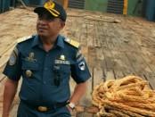 Kepala Kantor Unit Penyelenggara (UP) Pelabuhan Kelas III Ba'a (Syahbandar), Kabupaten Rote Ndao, Provinsi Nusa Tenggara Timur Willibrodus Thaal - foto: Isak Doris Faot/Koranjuri.com