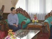 General Manage Alibaba Group wilayah Asia Tenggara Dr. Cerry Huang menemui Wakil Gubernur Tjokorda Oka Artha Ardhana Sukawati (Cok Ace), Senin, 29 Januari 2019 - foto: Istimewa