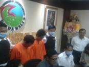 Dua pemuda ditangkap Direktorat Resnarkoba Polda Bali dalam kasus peredaran Narkoba - foto: Istimewa