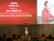 Wakil Gubernur Bali Tjokorda Artha Ardana Sukawati (Cok Ace) membuka pertemuan tahunan Otoritas Jasa Keuangan (OJK) Regional Bali-Nusra di ITDC Nusa Dua, Selasa, 29 Januari 2019 - foto: Istimewa