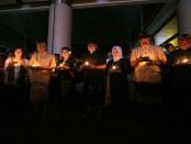 Doa bersama di BNR Bali menyambut Tahun Baru 2019 - foto: Ari Wulandari/Koranjuri.com