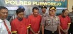 Tiga Pemakai Shabu Dibekuk Polisi
