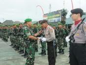 Pangdam IX/Udayana, Mayjen TNI Benny Susianto membuka upacara dalam rangka latihan Kader Pengamanan Pemilu di Mako Rindam IX/Udayana, Tabanan, Rabu, 23 Januari 2019 - foto: Istimewa