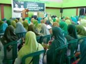 Rapat koordinasi Jaringan Perempuan NU Kabupaten Purworejo, Sabtu (23/2) di GOR WR Supratman - foto: Sujono/Koranjuri.com