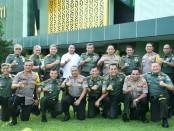 Pertemuan Kapolda Kapolda Metro Jaya Irjen Pol Gatot Eddy Pramono kepada Pangdam Jaya Mayjen TNI Eko Margiyono, Senin (4/2/2019) - foto: Istimewa
