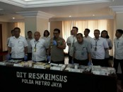 13.003 butir obat daftar G ilegal disita Subdit Indag Ditkrimsus Polda Metro Jaya sepanjang Januari 2019 - foto: Bob/Koranjuri.com