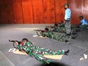 Satuan Unsur Kapal Amfibi (Satfib) Koarmada  I menggelar latihan menembak - foto: Istimewa