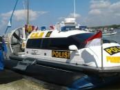 Kapal Polisi Prawira Raksa Ghora (PRG) yang dimiliki Direktorat Polairud Polda Bali - foto: Istimewa