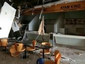 Sebuah ledakan terjadi di Mall Taman Anggrek, Jakarta Barat, Rabu (20/2/2019) sekira pukul 10.00 WIB. Ledakan berasal dari sebuah rumah makan di dalam mall tersebut - foto: Istimewa