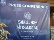 Prescon Soul of Nusa Dua, Rabu, 27 Maret 2019 - foto: Istimewa